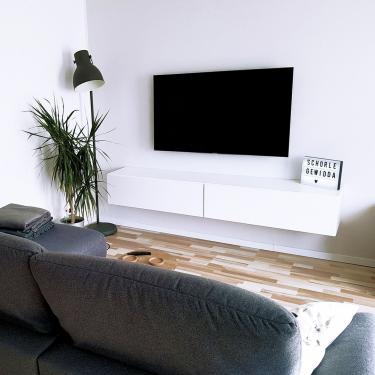 Design with style. Design with smile. 🥰⠀⠀⠀⠀⠀⠀⠀⠀⠀ Unser TV-Board Somero ⠀⠀⠀⠀⠀⠀⠀⠀⠀ Korpus und Front in weiß-matt⠀⠀⠀⠀⠀⠀⠀⠀⠀ ⠀⠀⠀⠀⠀⠀⠀⠀⠀ #tvboard #wohnzimmer #wuun #wuunliving #wuunmoment #interior #interiordesign #style #deko #hausbau #lifestyle