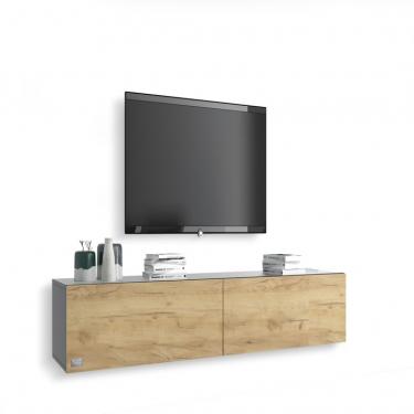 Unser TV-Board Somero 🤍✨⠀⠀⠀⠀⠀⠀⠀⠀⠀ Korpus: Grau-Hochglanz⠀⠀⠀⠀⠀⠀⠀⠀⠀ Front: Eiche⠀⠀⠀⠀⠀⠀⠀⠀⠀ ⠀⠀⠀⠀⠀⠀⠀⠀⠀ #tvboard #wuunmoment #interior #interiordesign #wohnzimmer #inneneinrichtung #decor #design #style